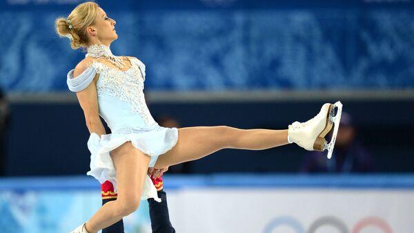 Олимпиада 2014. Фигурное катание. Команды. Пары. Короткая программа. Архивное фото