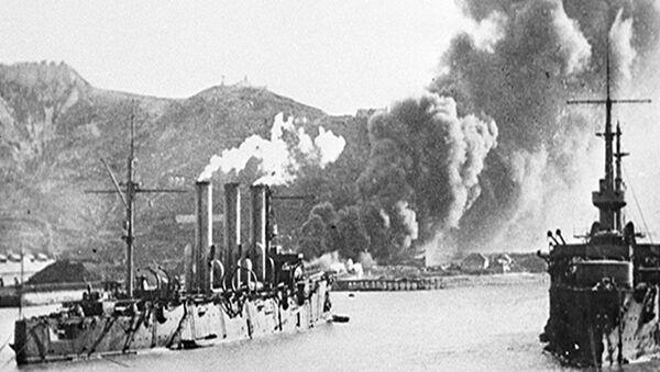 Архивные кадры к 110-летию начала русско-японской войны