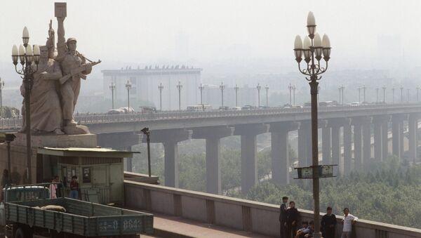 Мост Янцзы в Нанкине. Архивное фото