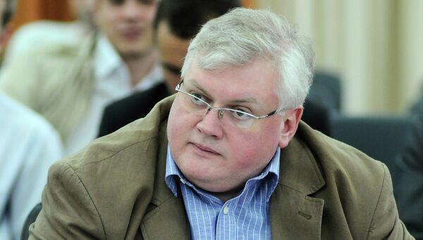 Вице-спикер Законодательного собрания Красноярского края Алексей Клешко, архивное фото