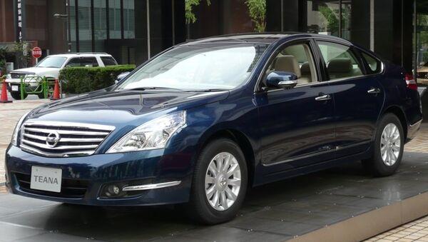 Автомобиль Nissan. Архивное фото