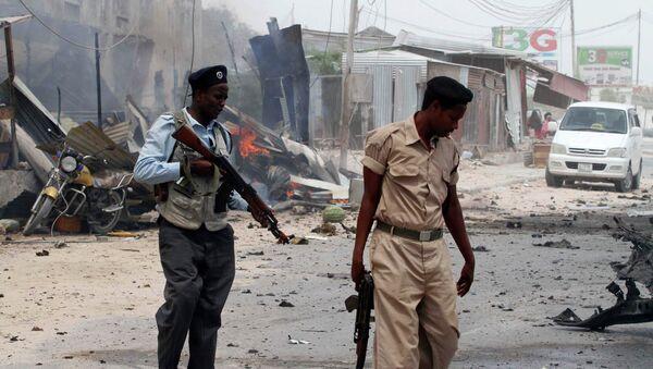 Теракт у въезда в аэропорт столицы Сомали, Архивное фото