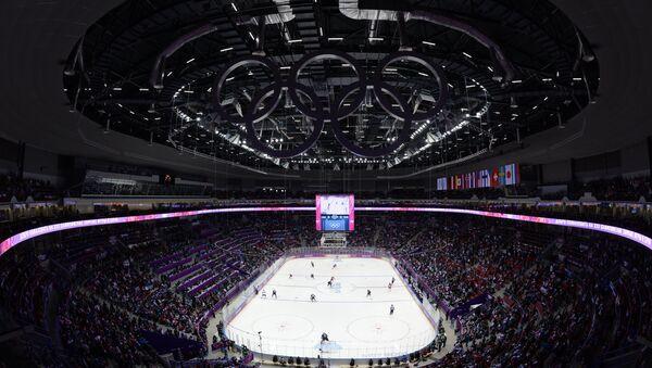 Арена ледового дворца Большой. Архивное фото