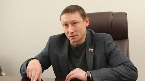 Депутат заксобрания Новосибирской области Евгений Подгорный