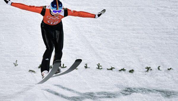 Олимпиада 2014. Прыжки с трамплина. Мужчины. Большой трамплин. Тренировки