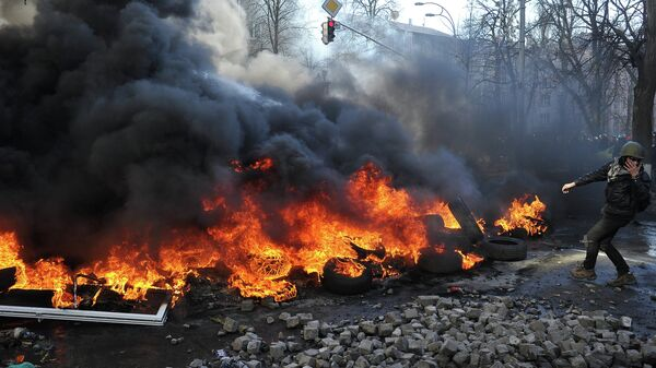 Обострение ситуации на Украине, архивное фото