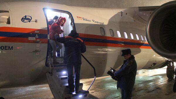 Спецборт МЧС России доставил в Санкт-Петербург жительницу Самары. Фото с места события