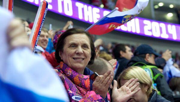 Мама Александра Овечкина Татьяна. Архивное фото