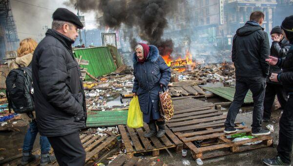 Ситуация в Киеве 19 февраля 2014