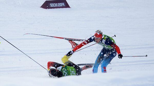 Олимпиада 2014. Лыжные гонки. Мужчины. Командный спринт