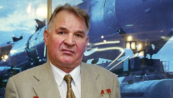Космонавт Валерий Кубасов