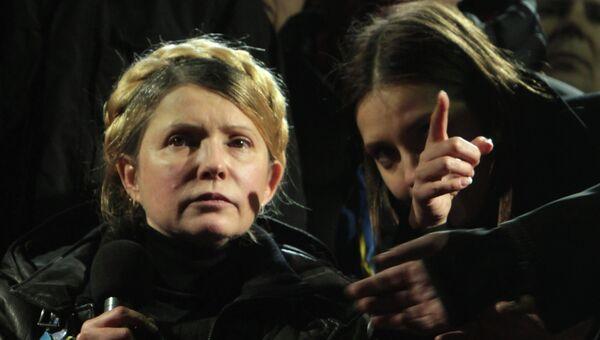 Юлия Тимошенко в Киеве. Архивное фото