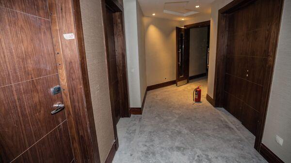 Недостроенный отель Хаятт на мысе Бурном во Владивостоке, который начали строить к саммиту АТЭС-2012