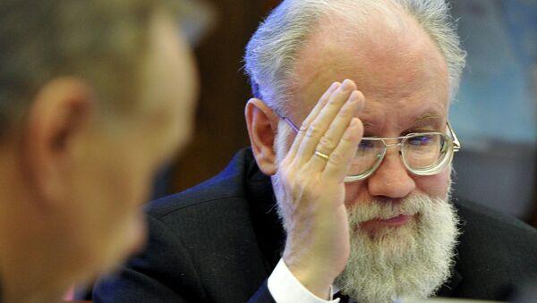 Председатель Центральной избирательной комиссии России Владимир Чуров. Архивное фото
