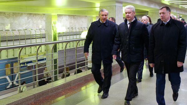 С.Собянин принял участие в открытии станций метро Лесопарковая и Битцевский парк