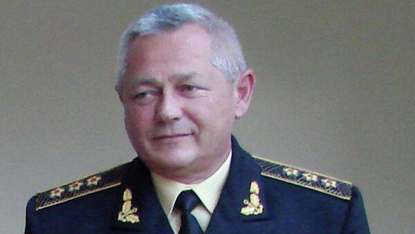 Исполняющий обязанности министра обороны Украины Игорь Тенюх, архивное фото