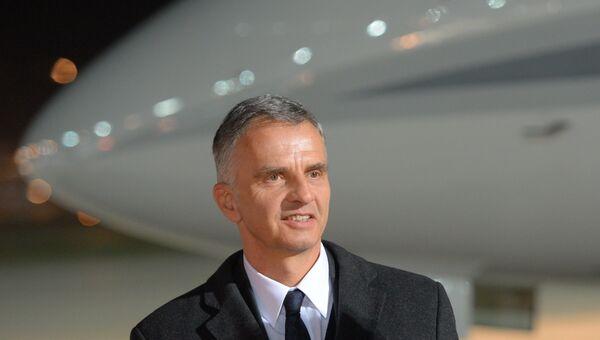Действующий председатель ОБСЕ, Дидье Буркхальтер. Архивное фото
