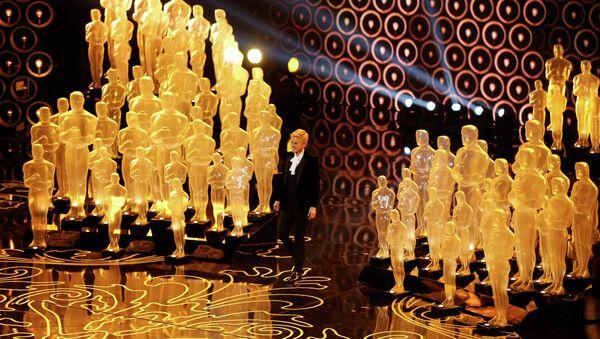 Ведущая 86-й церемонии вручения премии Оскар Эллен Дедженерес