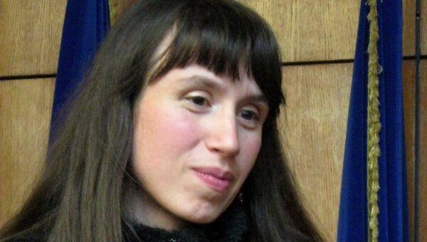 Журналистка Татьяна Чорновил . Архивное фото