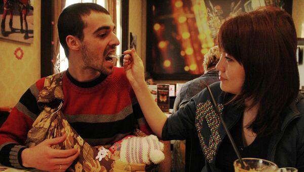 Андре и Катя Нобрега с дочкой Лидой