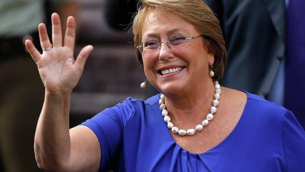 Избранный президент Чили Мишель Бачелет