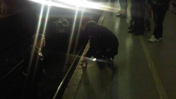 Мужчина бросился под поезд на станции метро Парк Культуры