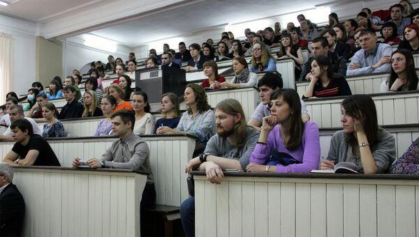 Российские студенты. Архивное фото