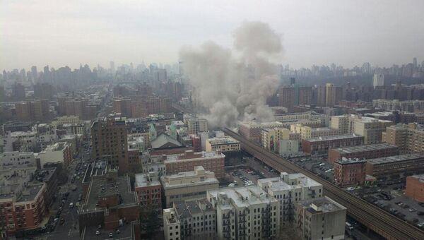 Взрыв прогремел в центре Нью-Йорка