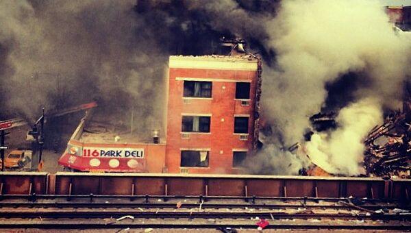 Взрыв прогремел в центре Нью-Йорка. Фото с места событий