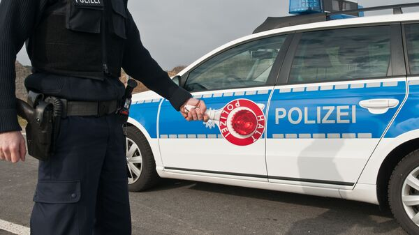 Австрийская полиция, архивное фото
