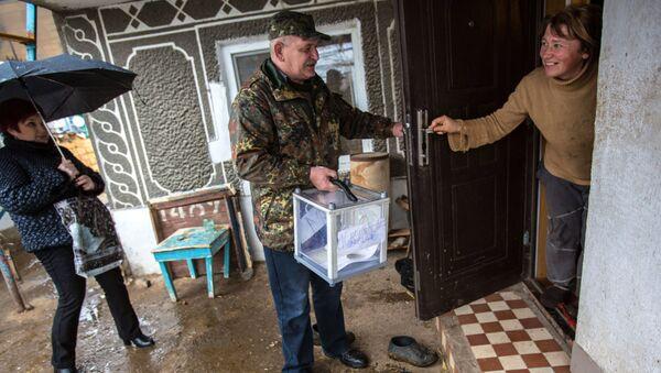 Референдум о статусе Крыма в Джанкойском районе, архивное фото