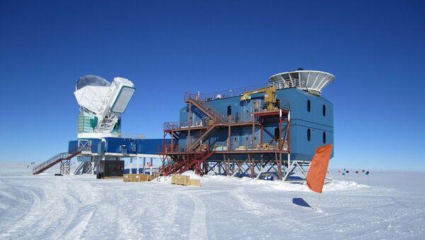 Обсерватория BICEP2 в Антарктиде
