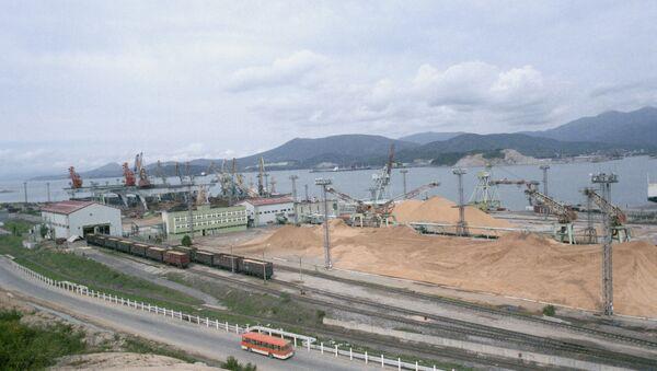 Порт Восточный Дальний Восток