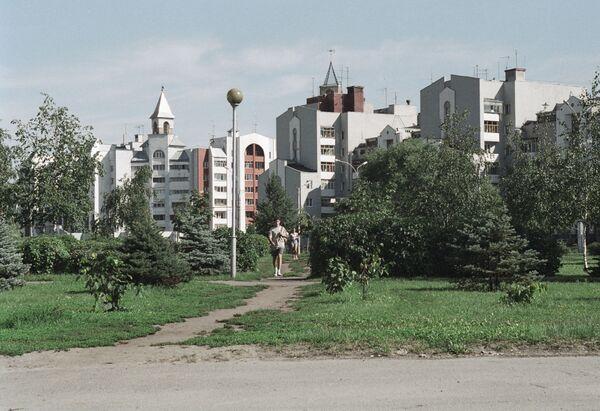 Современные дома города Липецка
