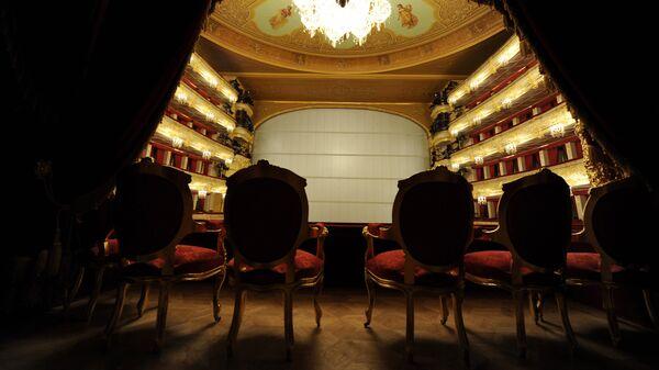 Интерьеры Большого театра в Москве после завершения реконструкции