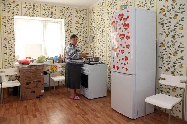 Жители подмосковных Бронниц, лишившиеся жилья из-за взрыва бытового газа в жилом доме, получили новые квартиры