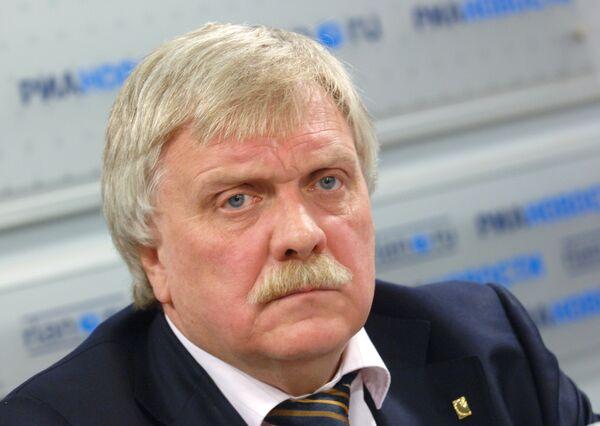Пресс-конференция главного архитектора Москвы А. Кузьмина