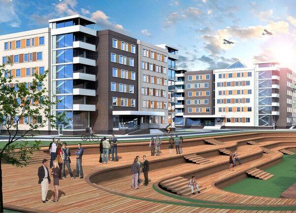 Конкурс на лучший архитектурный проект студенческого общежития