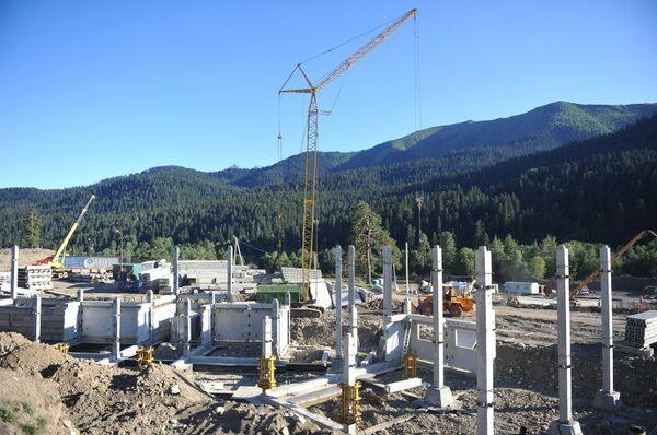 Строительство курортного комплекса в поселке Архыз