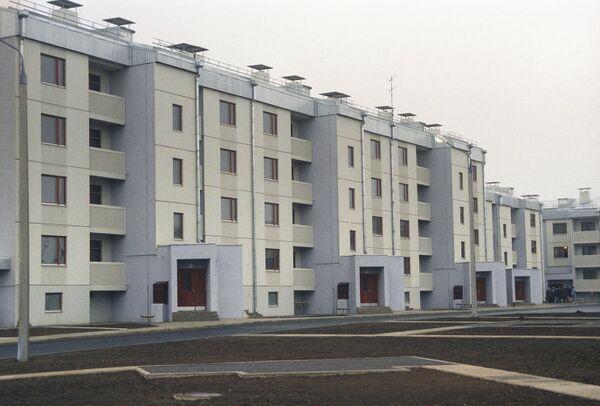 Жилые дома в военном городке