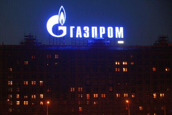 Реклама ОАОГазпром в Москве
