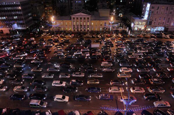 Пробки, Москва, транспорт