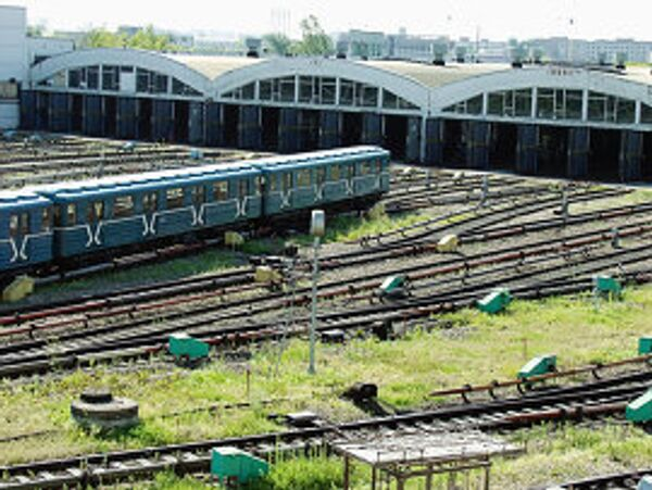 Депо Московского метрополитена