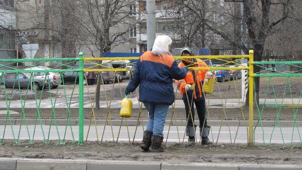 Уборка и благоустройство Москвы