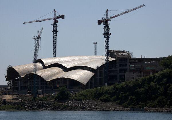 Строительство объектов в рамках подготовки к саммиту АТЭС 2012 года
