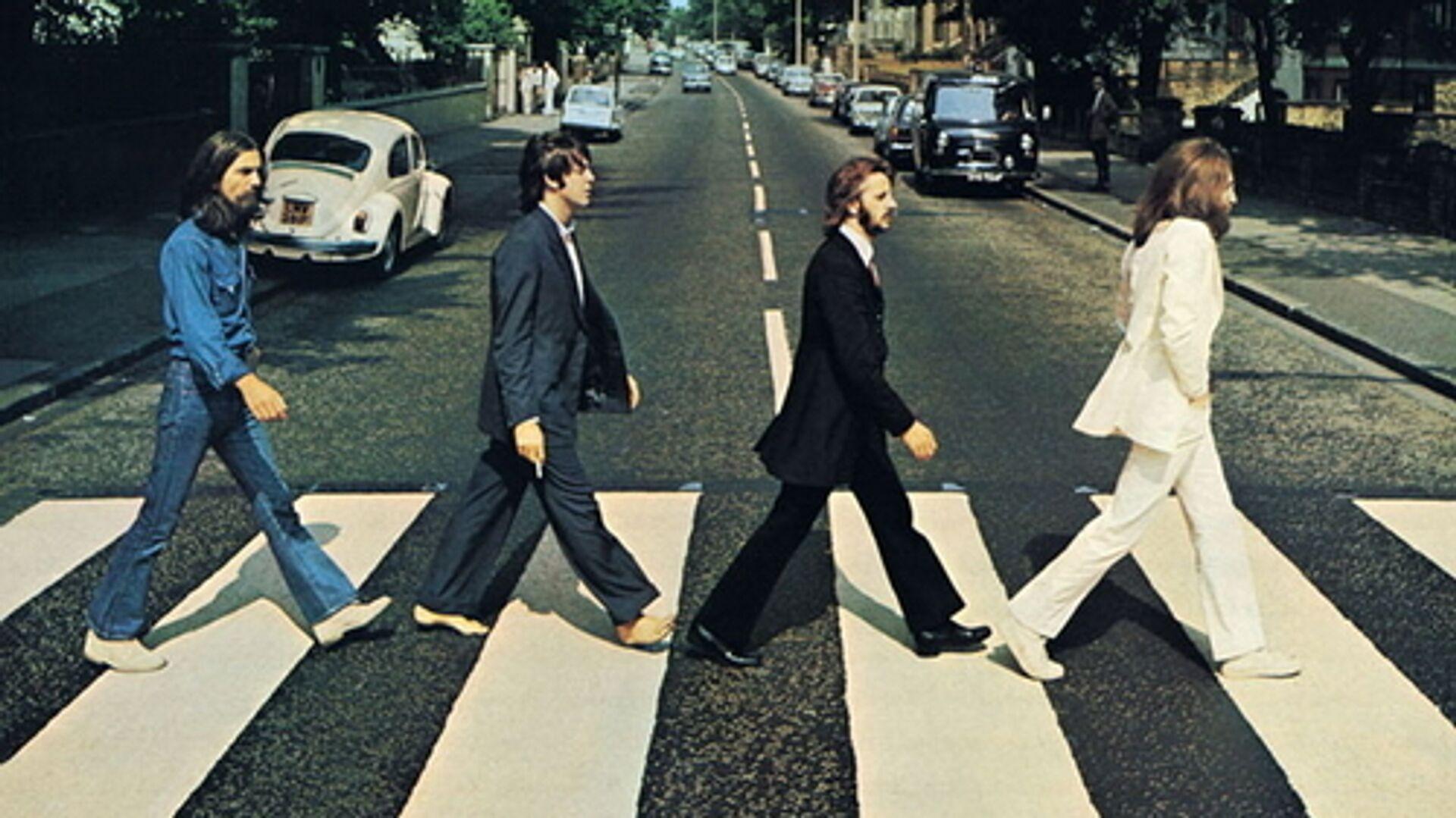 Обложка альбома Abbey Road группы Beatles - РИА Новости, 1920, 13.01.2021