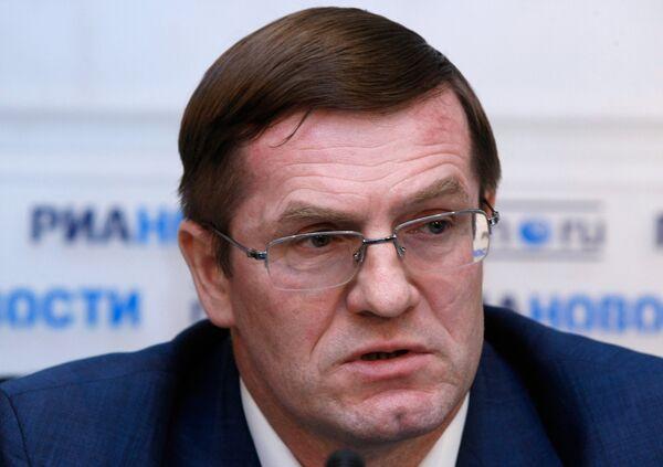 Руководитель Федеральной службы государственной регистрации, кадастра и картографии Сергей Васильев