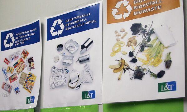 Даже в тюрьме финны не забывают о раздельной утилизации мусора