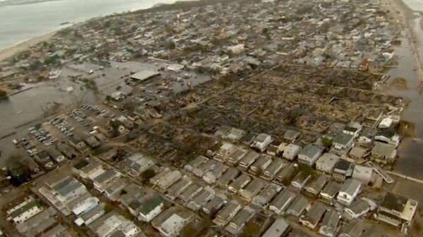 Сгоревшие дома, затопленные улицы и перевернутые яхты – последствия Сэнди