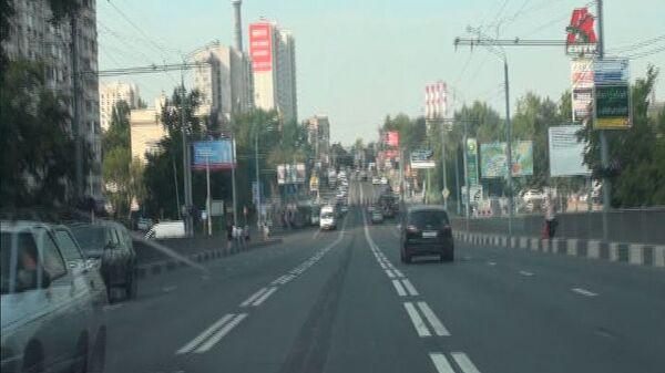 На Шереметьевской улице в Москве открыли реверсивную полосу движения